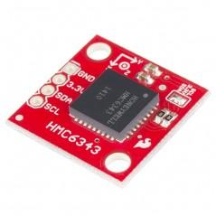 HMC6343 Breakout (Sparkfun SEN-12916) 3-axis MR Sensors + Accelerometers + Microprocessor