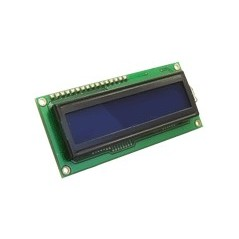 MIKROELEKTRONIKA LCD 2x16 with blue backlight