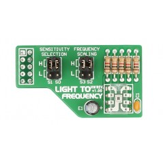 Light to Frequency Board (MIKROELEKTRONIKA)