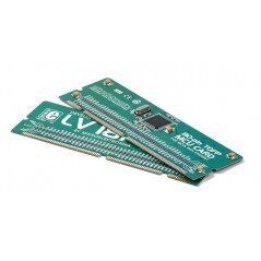LV18F 80-pin TQFP MCU Card with PIC18F87J60