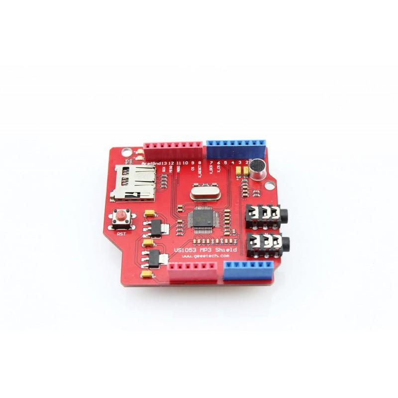 VS1053 MP3 Shield for Arduino (ER-ASVS1053MP) Ogg Vorbis/MP3/AAC/WMA/MIDI ,  IMA ADPCM
