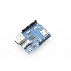 Arduino with W5100 Ethernet Shield - YouTube