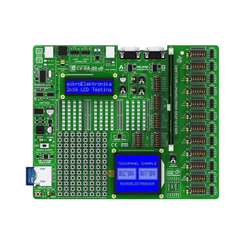 LV24-33 v6 Development System (MIKROELEKTRONIKA) LV2433