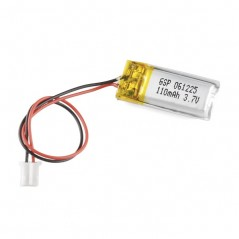 Polymer Lithium Ion Battery - 110mAh (Sparkfun PRT-00731)