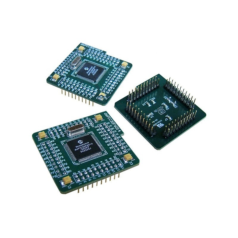 MCU card with dsPIC30F6014A for dsPICPRO (MIKROELEKTRONIKA)