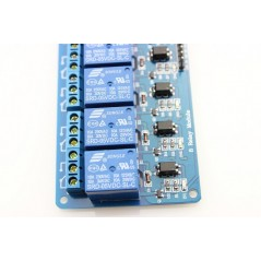 8-Channel 5V Relay Module-10A (ER-ARE00108SL) Control Voltage: 5V