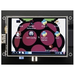"PiTFT - Assembled 480x320 3.5"" TFT+Touchscreen for Raspberry Pi (Adafruit 2097)"