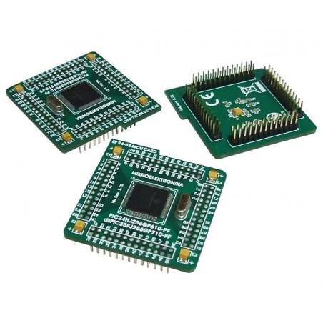 100-pin MCU card with PIC24FJ96GA010 for LV24-33A (MIKROELEKTRONIKA)