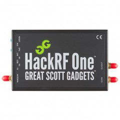 HackRF One (Sparkfun WRL-13001) Software Defined Radio (SDR) transmission / reception of radio signals  10MHz - 6GHz