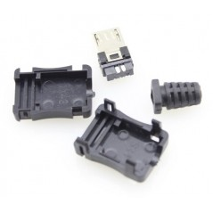 Micro USB Type B Connector 10x - Pack of 10pcs  (RLX-USB008)