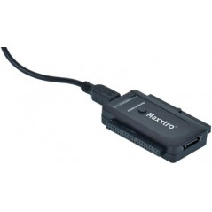 USB 2.0 - SATA/IDE converter  MX-K130 (Maxxtro) incl.power supply 12V/2A