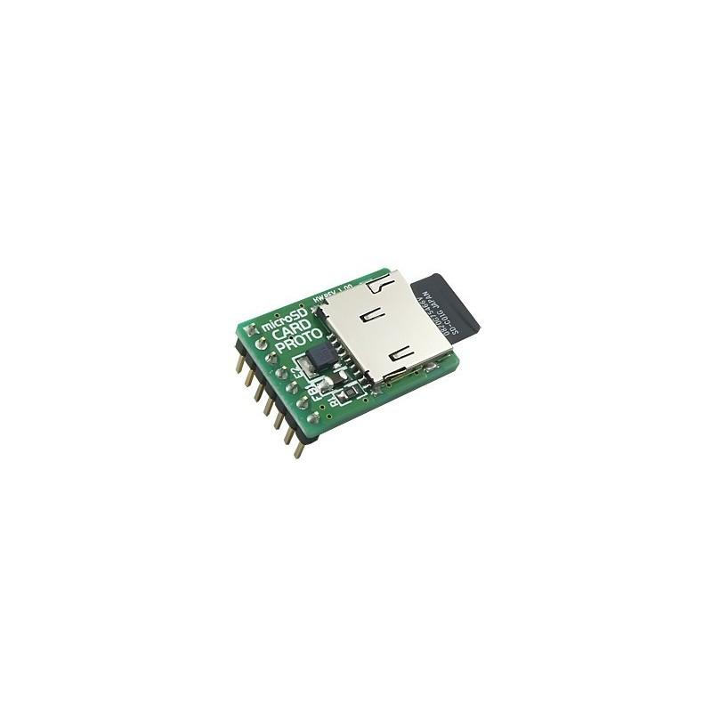 microSD Card PROTO Board (MIKROELEKTRONIKA)