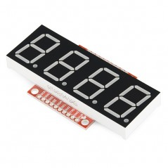 OpenSegment Serial Display - 20mm Green (Sparkfun COM-11646)