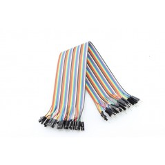 40Pin 2.54mm Male - Female Splittable Jumper Wire - 200mm (ER-PCW02040P M-F )