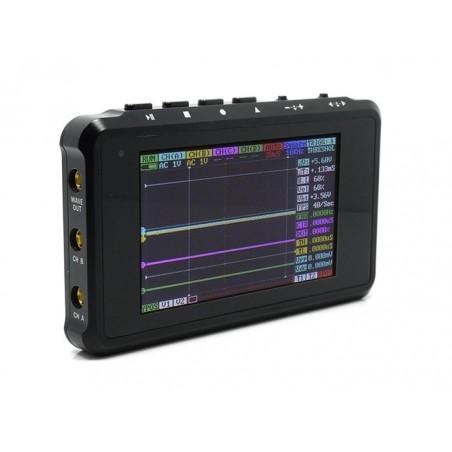DSO Quad - Aluminium Alloy Black (TES725AAB) 4 channel digital oscilloscope