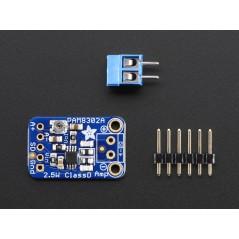 Mono 2 5W Class D Audio Amplifier - PAM8302 (Adafruit 2130)