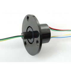 Slip Ring with Flange - 22mm diameter, 6 wires, max 240V @ 2A (Adafruit 736)