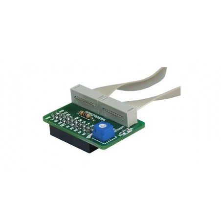 GLCD 240x64 Adapter Board Parallel (MIKROELEKTRONIKA)