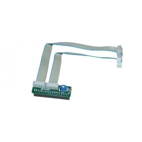 GLCD 240x128 Adapter Board Parallel (MIKROELEKTRONIKA)