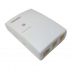 Raspberry Pi B+ White Enclosure Box Krabička (MULTICOMP)  MC-RP002-WHT  WHITE, RPI B PLUS
