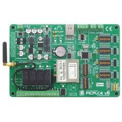 PICPLC4 v6 PLC System (MIKROELEKTRONIKA)