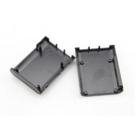 Raspberry Pi Plastic Case Enclosure Box Black Krabička  for Pi B+/RPI2/3/3B/3B+