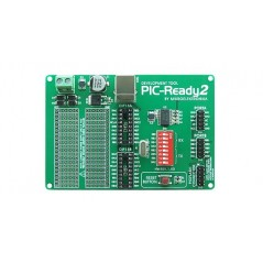 PIC-Ready2 Board (MIKROELEKTRONIKA)