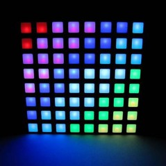 60mm Square 8x8 LED Matrix - Square RGB LED Square-Dot (ER-DLM02038R)