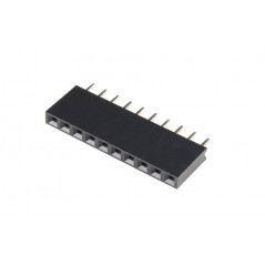 1x10 Female Header For Arduino 5pcs pack (ER-CCC11001C)