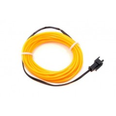 EL Wire- Yellow 2m (ER-DEL00802yellow) Electroluminescent wire