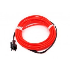 EL Wire- Red 2m (ER-DEL00802red) Electroluminescent wire