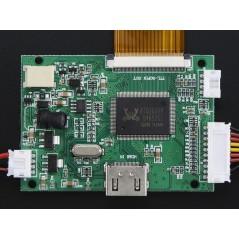 "HDMI 4 Pi: 7"" Display no Touchscreen 1024x600 w/ Mini Driver (Adafruit 2300)"