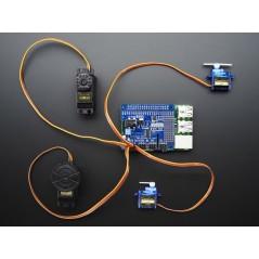 Adafruit 16-Channel PWM / Servo HAT for Raspberry Pi - Mini Kit (Adafruit 2327)