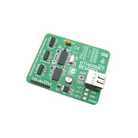 Serial Ethernet Board (MIKROELEKTRONIKA)