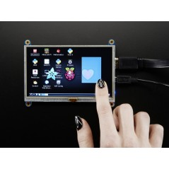 """HDMI 5"""" 800x480 Display Backpack - With Touchscreen (Adafruit 2260)"""