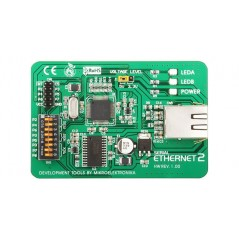 Serial Ethernet 2 Board (MIKROELEKTRONIKA)