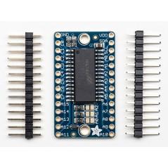Adafruit 16x8 LED Matrix Driver Backpack - HT16K33 Breakout (Adafruit 1427)
