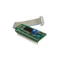Serial LCD/GLCD Adapter Board (MIKROELEKTRONIKA)