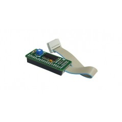 Serial GLCD 240x128 Adapter Board (MIKROELEKTRONIKA)