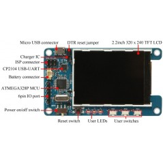 "ODROID-SHOW2 (Hardkernel) Arduino compatible 2 2"" TFT LCD (G14174301859)"
