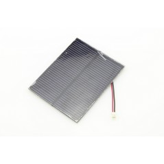 1W Solar Panel with Wires (ER-PS80100SPW)  5,5V / 170mA Connector 2.0mm JST