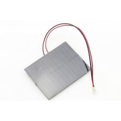 0.5W Solar Panel with Wires (ER-PS5570SPW) 5.5V / 100mA  Connector 2.0mm JST
