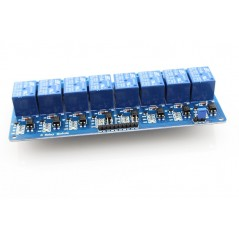 8-Channel 12V Relay Module-10A (ER-ARE00108SL12) Control Voltage: 12V