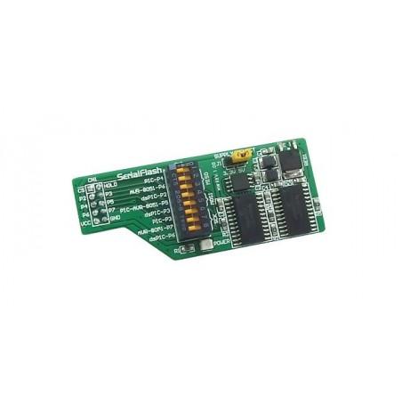 SerialFlash Board (MIKROELEKTRONIKA)