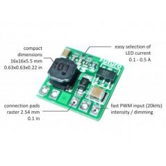 LED-Driver-376V LEDONino LED driver (0,1-0,5 A / 32 V)