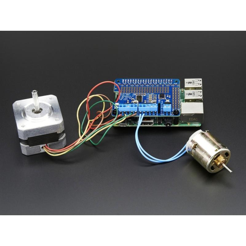 DC & Stepper Motor HAT for Raspberry Pi - Mini Kit (Adafruit 2348)