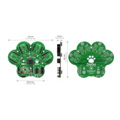 FlowPaw Kit (MIKROE-1744) ARM 32-bit Cortex M4, 1024K Flash, 192K SRAM, 168MHz