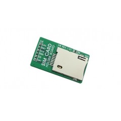 SIM Card Holder Board (MIKROELEKTRONIKA)