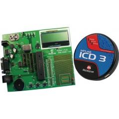 MPLAB ICD3 + PICDEM 2 Plus PC 9V, DV164036  Microchip