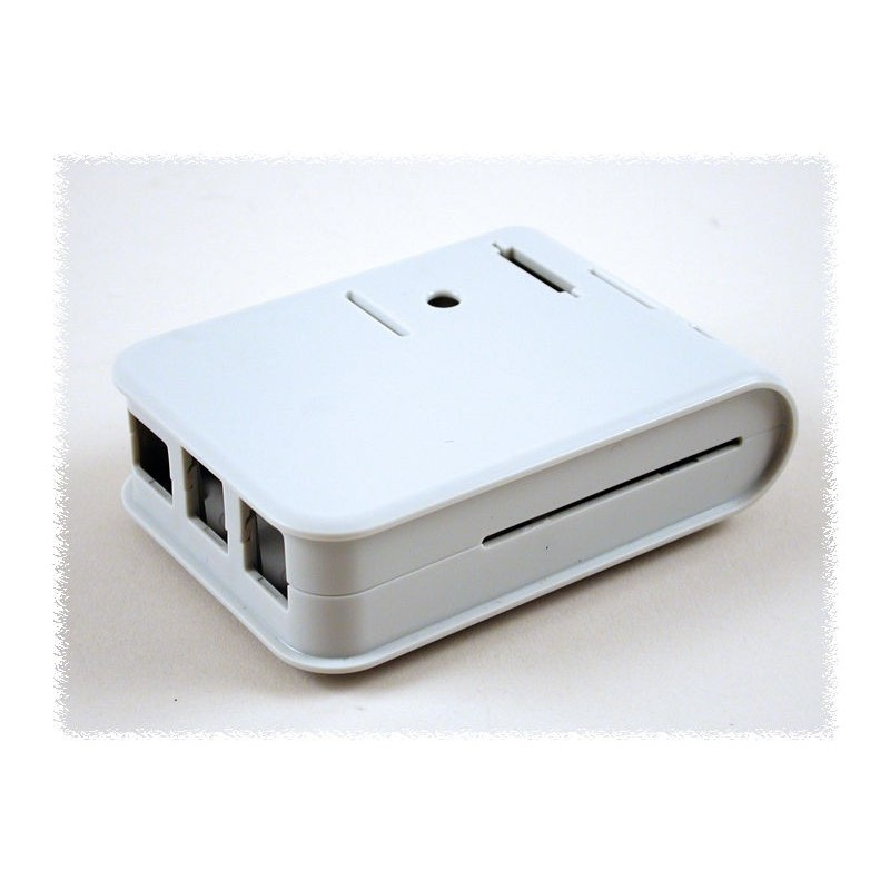 Enclosure Box Case for Raspberry Pi2 B (1593HAMPI2GY) RPI2 Gray